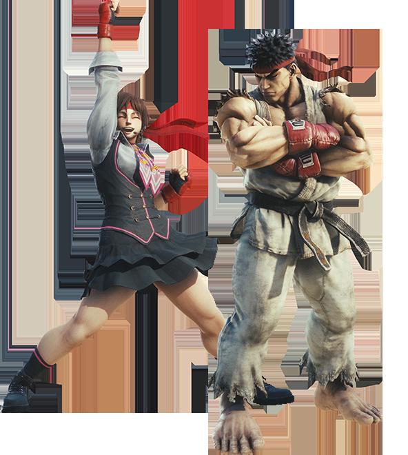 Collaboration : Street Fighter V Img_chara